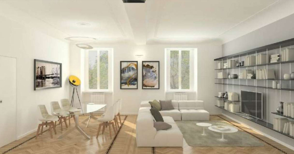Ristrutturazione Appartamento Via Washington Milano: consiste non solo in un progetto dettagliato, ma che tiene conto di ogni particolare della ristrutturazione